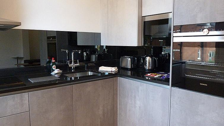 Equipped kitchen at Flying Butler Ealing Broadway Mount Park - Citybase Apartments