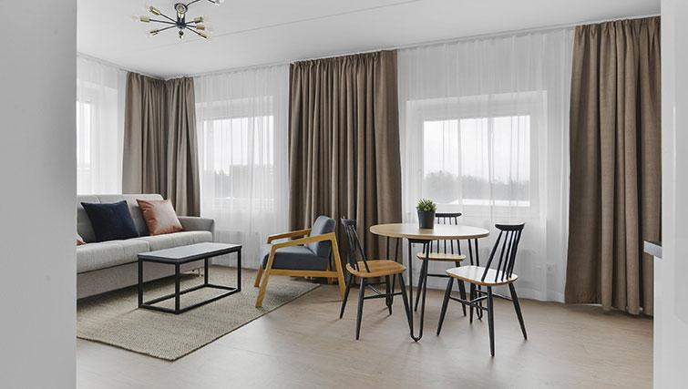 Dining table at Stockholm South Apartments - Citybase Apartments