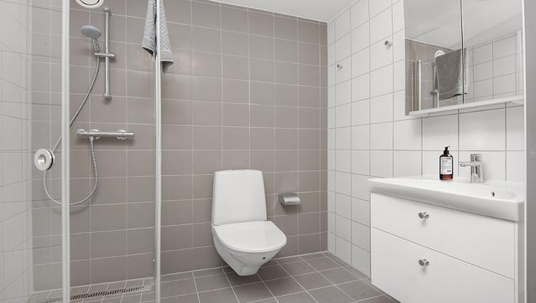 Bathroom at Stockholm South Apartments - Citybase Apartments