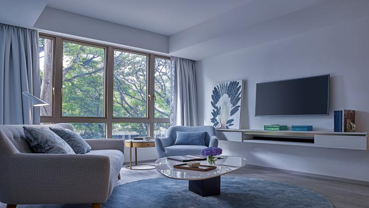Lounge at the Winsland Apartments, Singapore - Citybase Apartments
