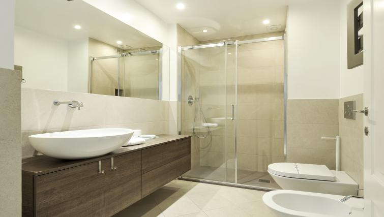 Shower at Procida Luxury Apartment - Citybase Apartments