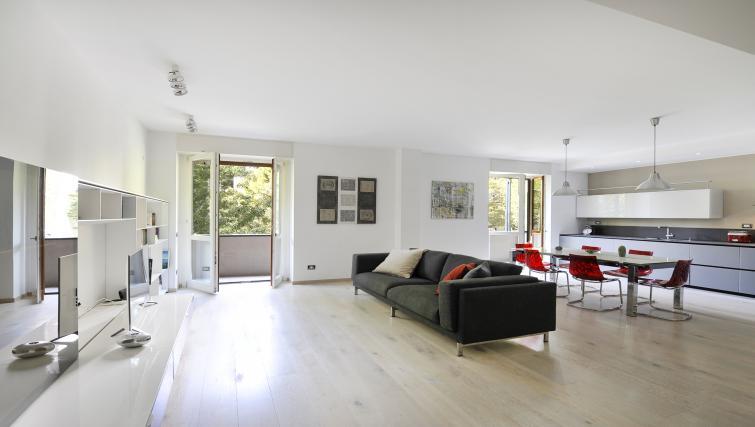 Sofa at Procida Luxury Apartment - Citybase Apartments