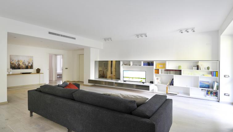 Living area at Procida Luxury Apartment - Citybase Apartments
