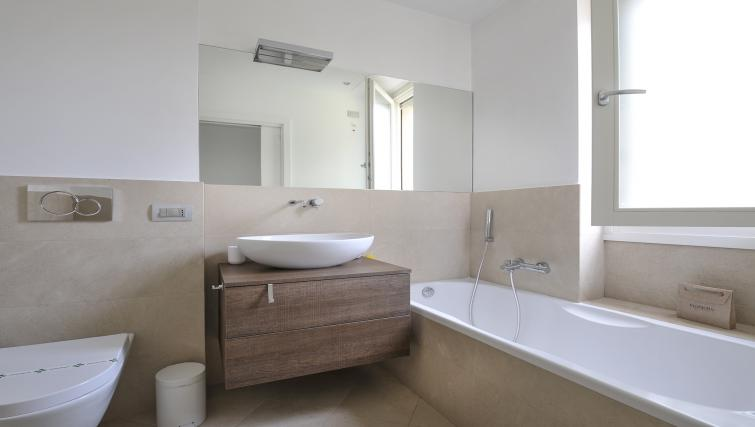 Bathroom at Procida Luxury Apartment - Citybase Apartments