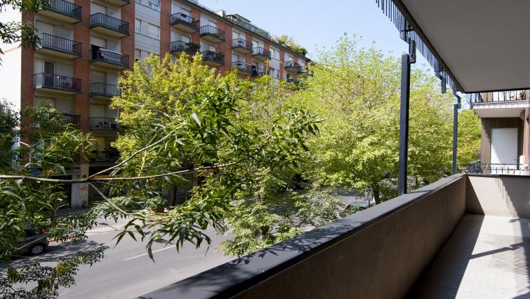 Balcony at Procida Luxury Apartment - Citybase Apartments