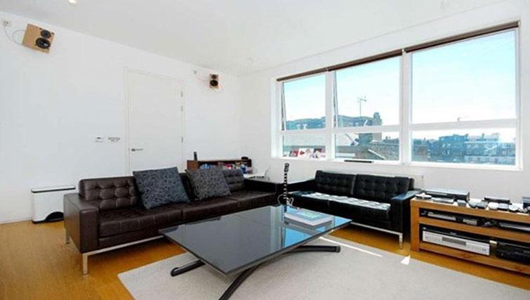 Sofa at Still Life King's Cross Superior Apartment - Citybase Apartments