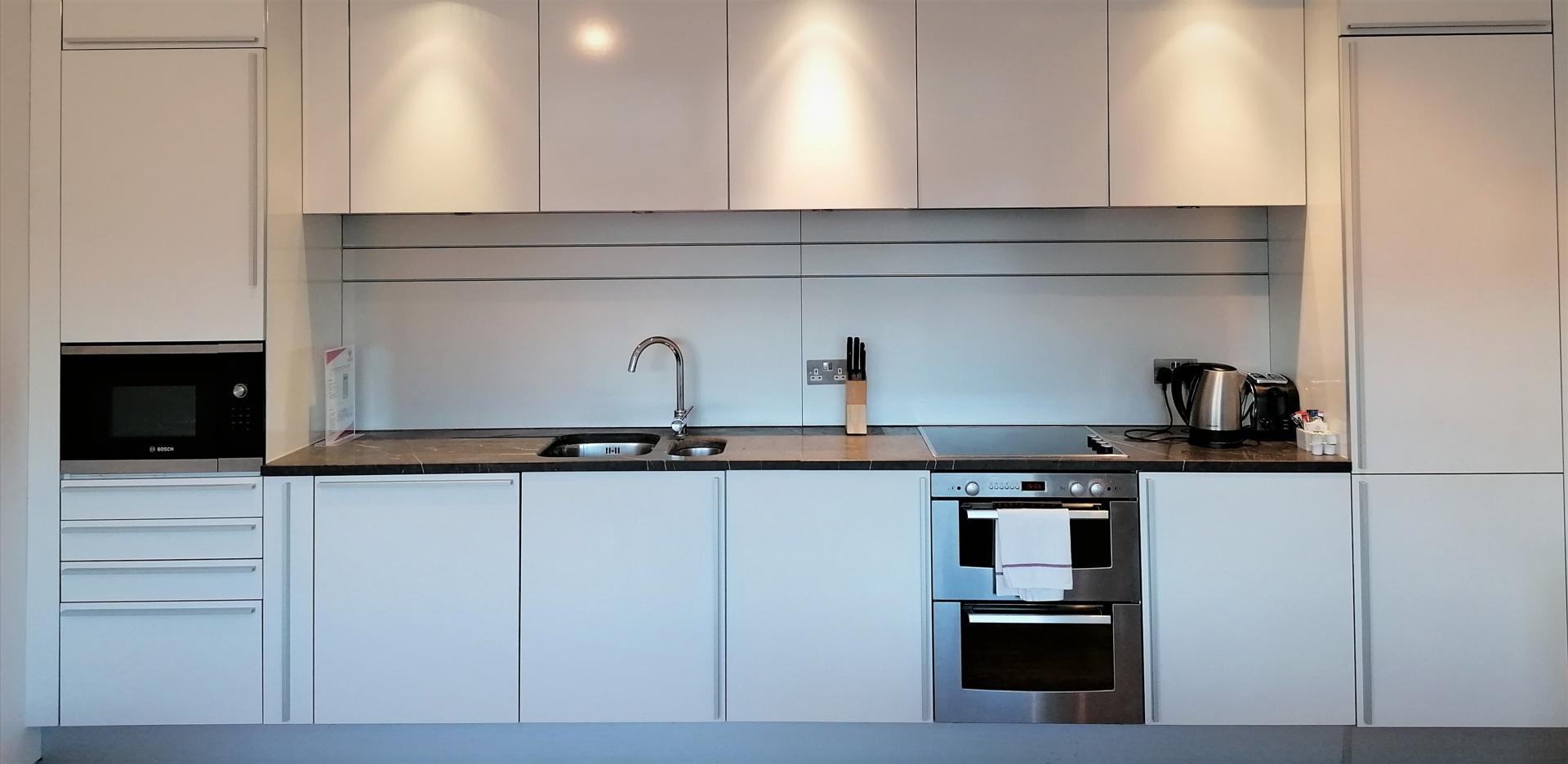 Kitchen at Still Life King's Cross Superior Apartment, Kings Cross St Pancras, London - Citybase Apartments