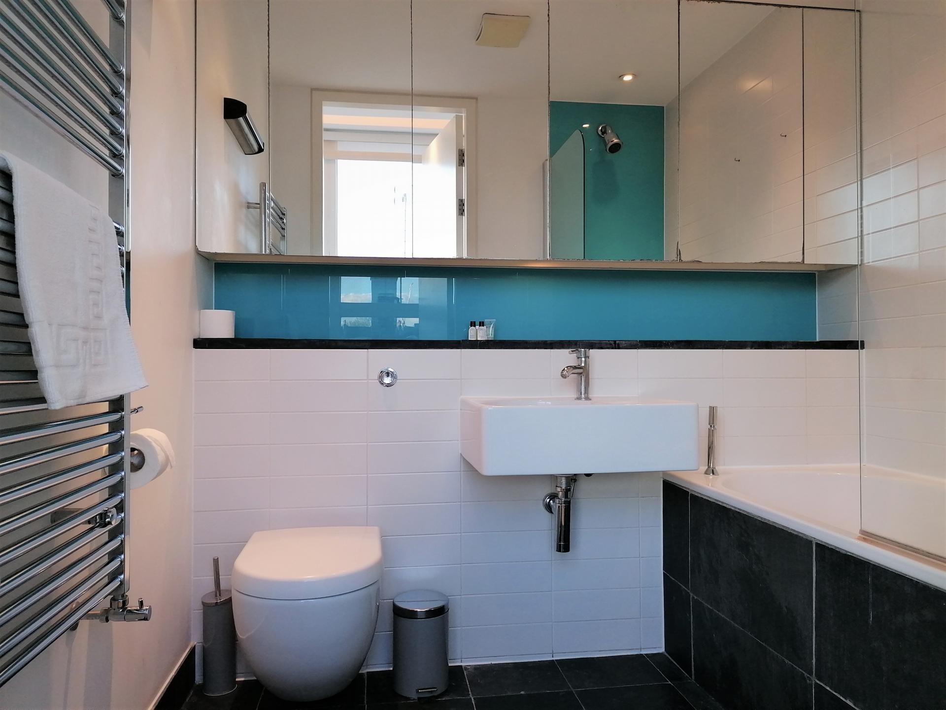 Bathroom at Still Life King's Cross Superior Apartment, Kings Cross St Pancras, London - Citybase Apartments