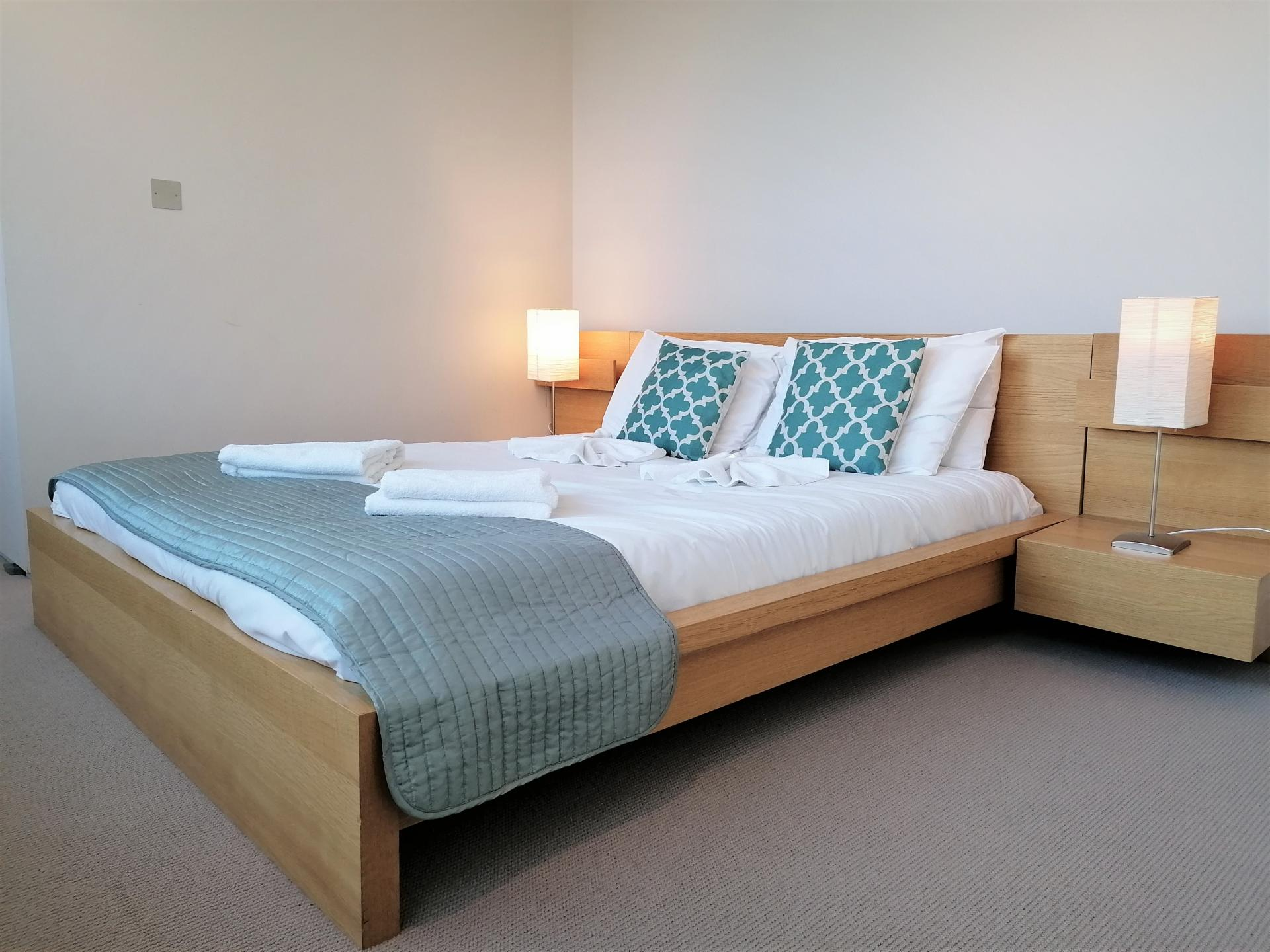 Bedroom atStill Life King's Cross Superior Apartment, Kings Cross St Pancras, London - Citybase Apartments