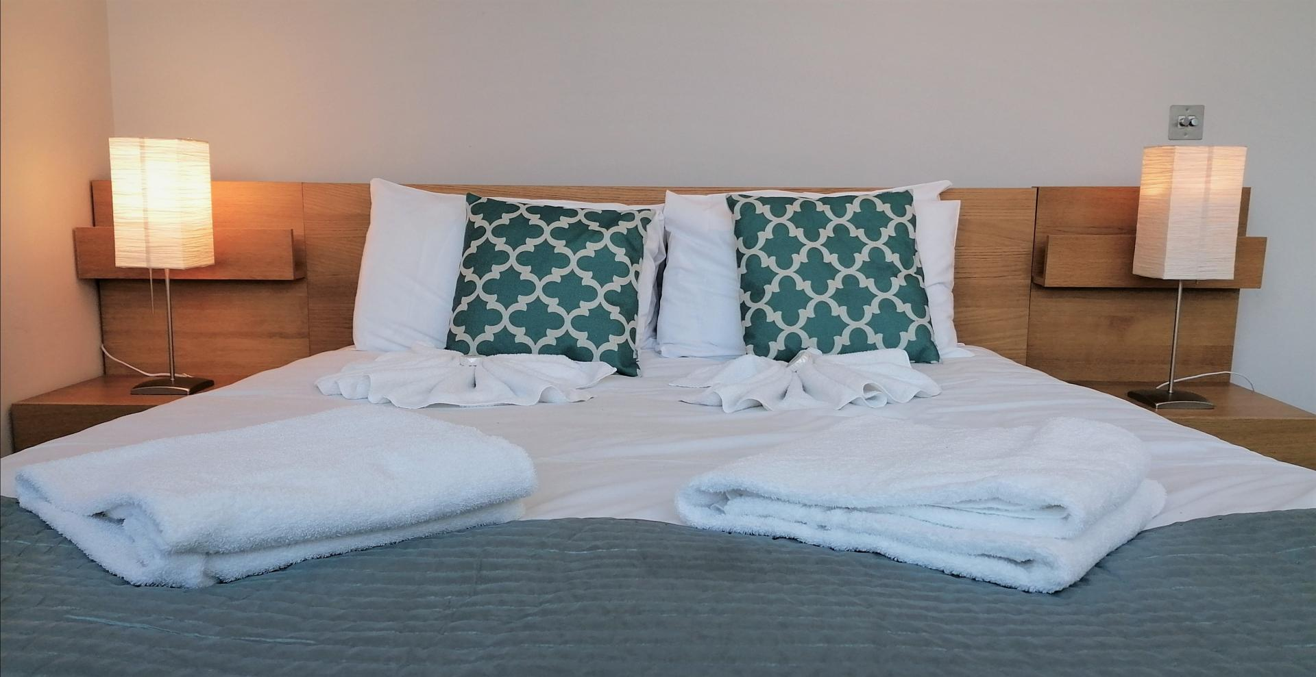Bed at Still Life King's Cross Superior Apartment, Kings Cross St Pancras, London - Citybase Apartments