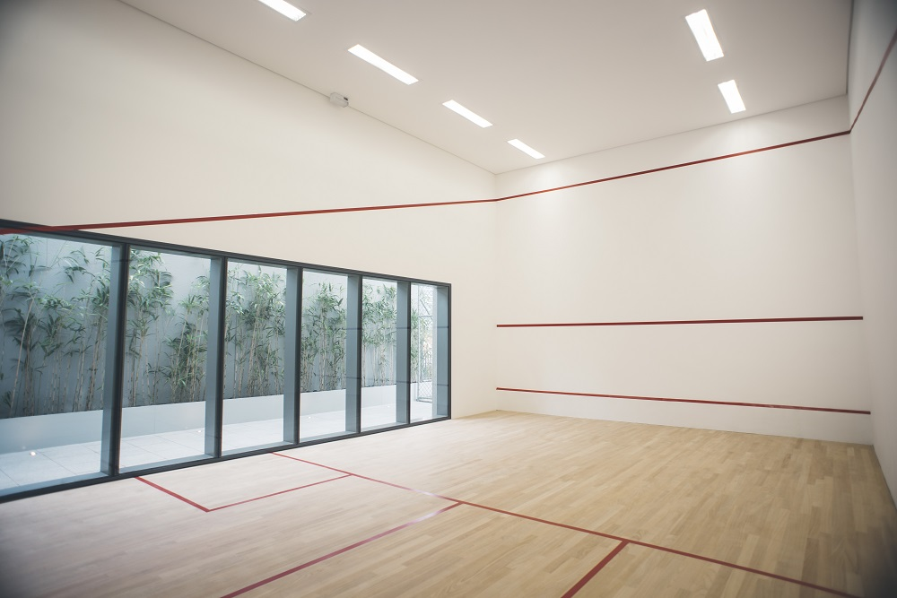 Squash Court at Forma Itaim by Q Apartments, Vila Olimpia, Sao Paulo - Citybase Apartments