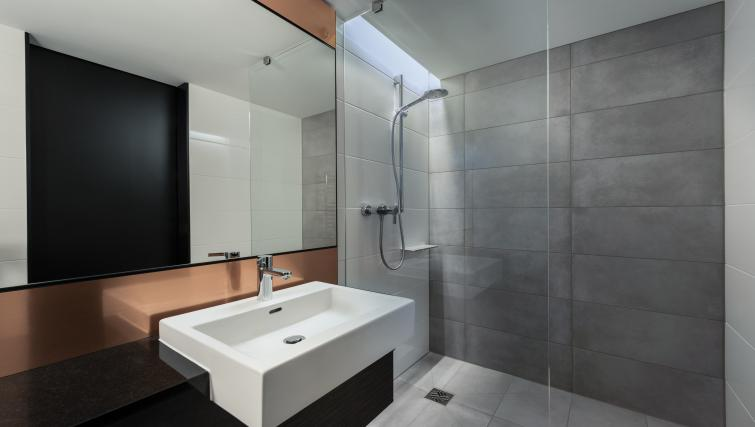 Bathroom at Adina Apartment Hotel Hamburg Speicherstadt - Citybase Apartments