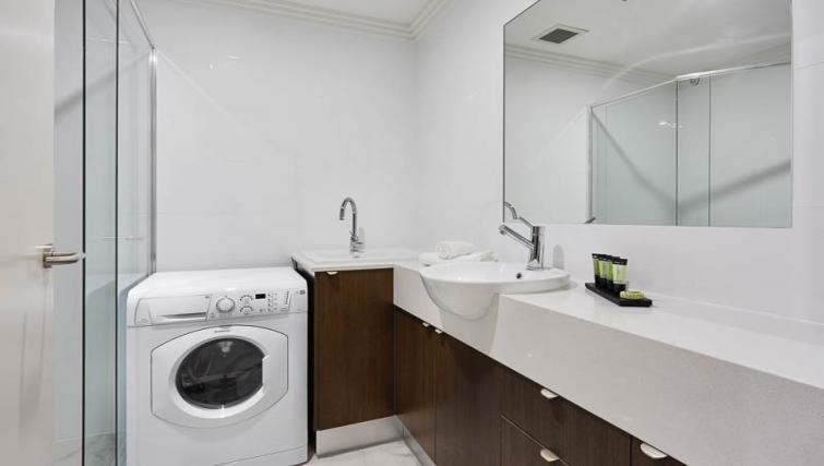 Laundry facilities at Attika Apartments - Citybase Apartments