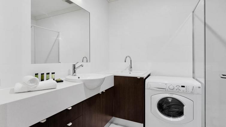 Bathroom at Attika Apartments - Citybase Apartments