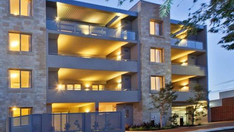Exterior of Zappeion Apartments - Citybase Apartments