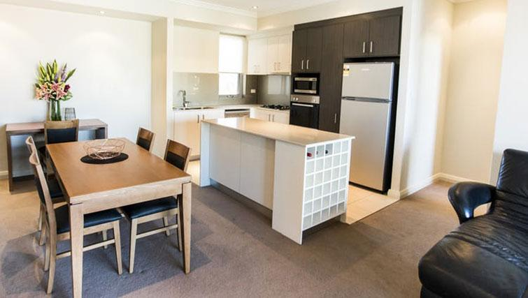 Kitchen/diner at Zappeion Apartments - Citybase Apartments