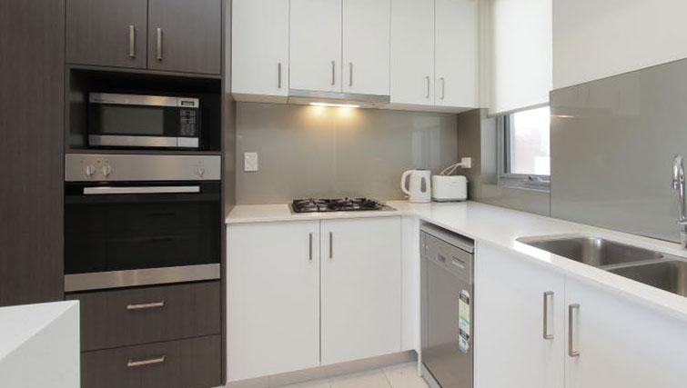 Kitchen at Zappeion Apartments - Citybase Apartments