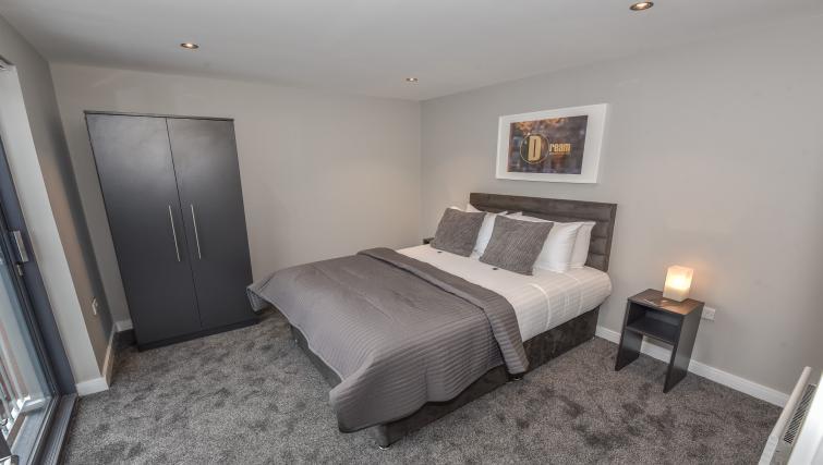 Bedroom at the Dream Apartments Lisburn Road - Citybase Apartments