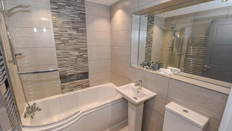 Bathroom at Dream Apartments Lisburn Road - Citybase Apartments
