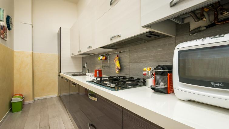 Kitchen at Residenza Diaz Apartment - Citybase Apartments