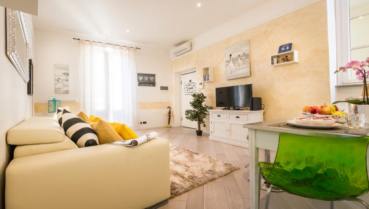 Living room at Residenza Diaz Apartment - Citybase Apartments