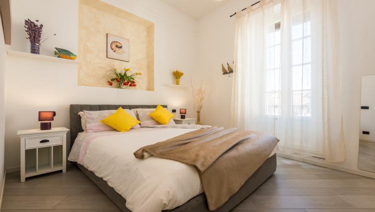 Bedroom at Residenza Diaz Apartment - Citybase Apartments