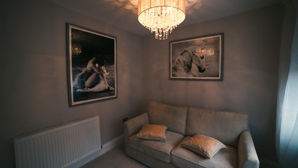 Sofa at Theatre Street Apartments, Centre, Preston - Citybase Apartments