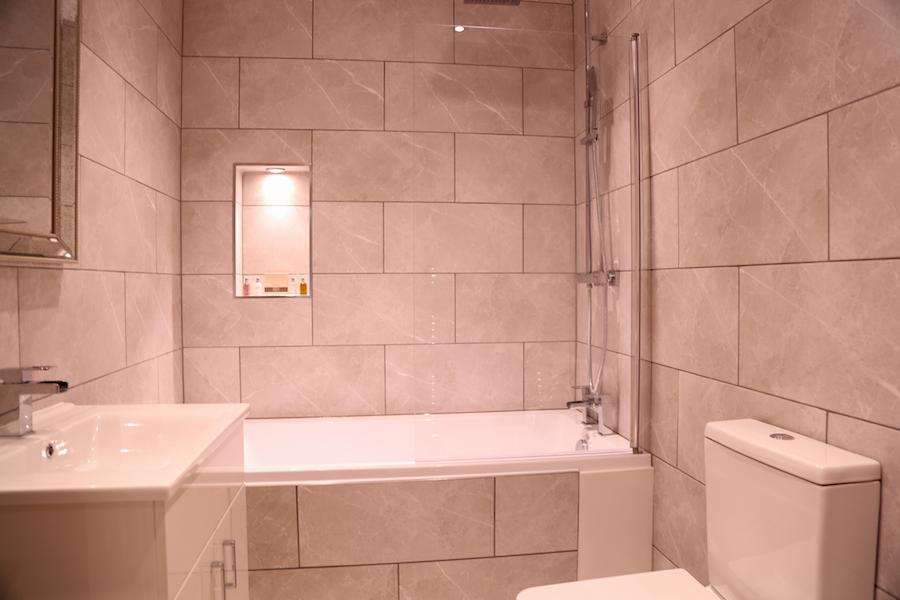 Bathroom at Theatre Street Apartments, Centre, Preston - Citybase Apartments