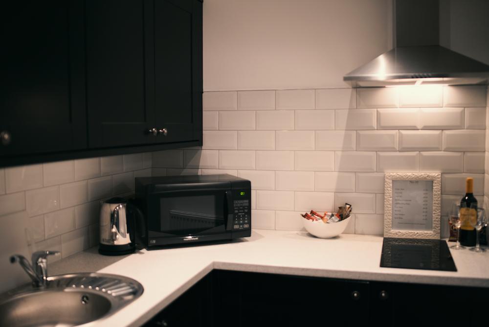 Microwave at Theatre Street Apartments, Centre, Preston - Citybase Apartments
