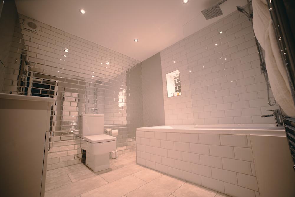 Sleek bathroom at Theatre Street Apartments, Centre, Preston - Citybase Apartments