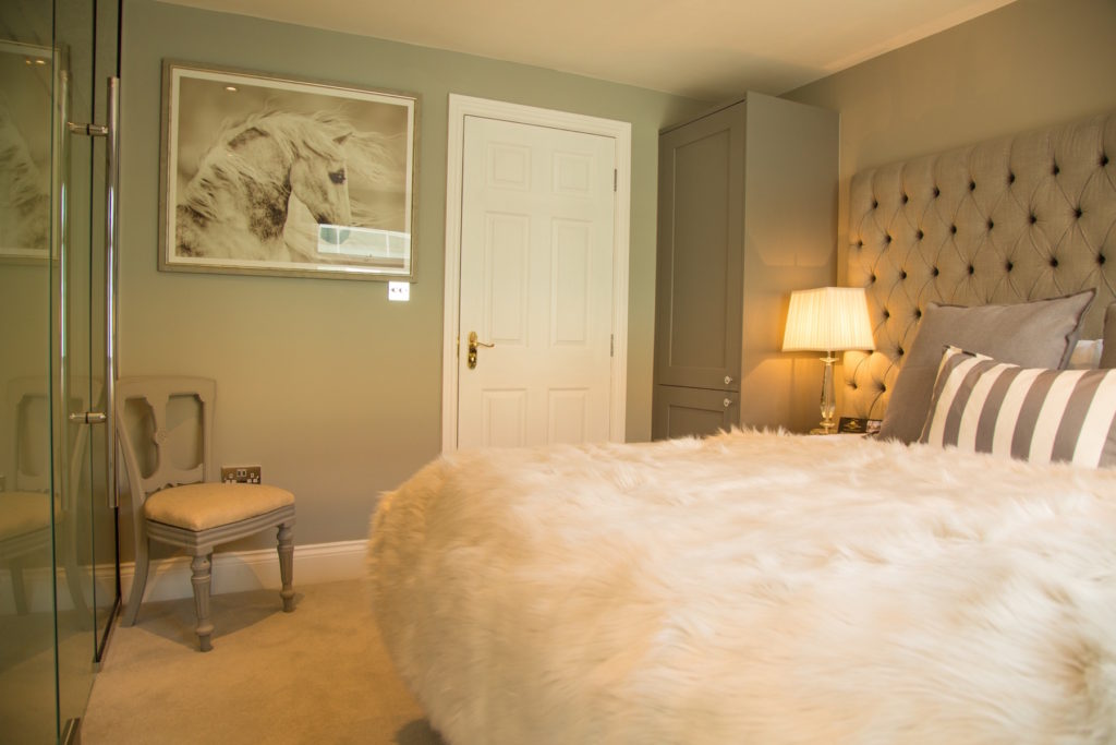 Fluffy bed at Theatre Street Apartments, Centre, Preston - Citybase Apartments