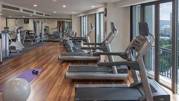 Gym at Ascott Kuala Lumpur No 9 Apartments - Citybase Apartments