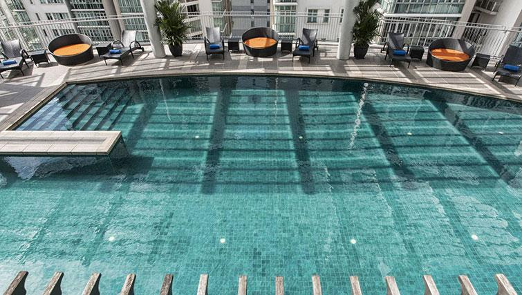 Pool at Ascott Kuala Lumpur No 9 Apartments - Citybase Apartments