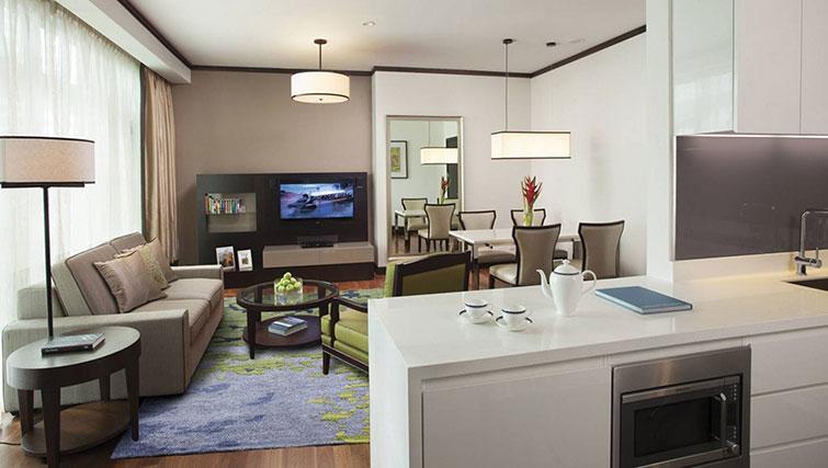 Kitchen at Ascott Kuala Lumpur No 9 Apartments - Citybase Apartments