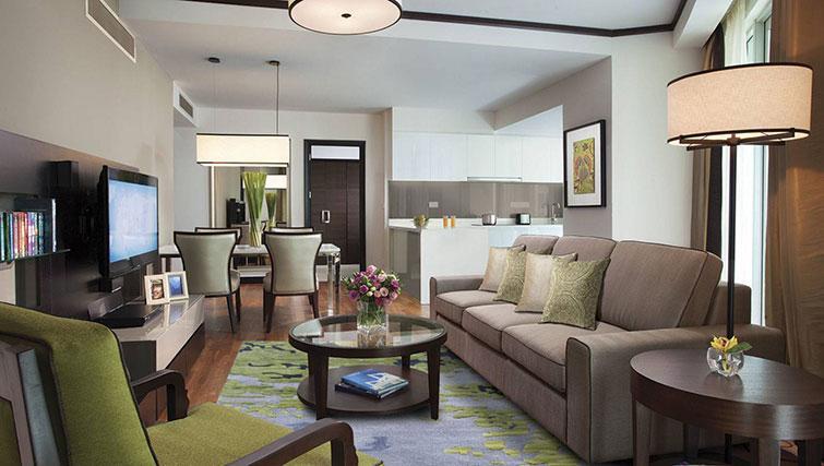 Large living area at Ascott Kuala Lumpur No 9 Apartments - Citybase Apartments