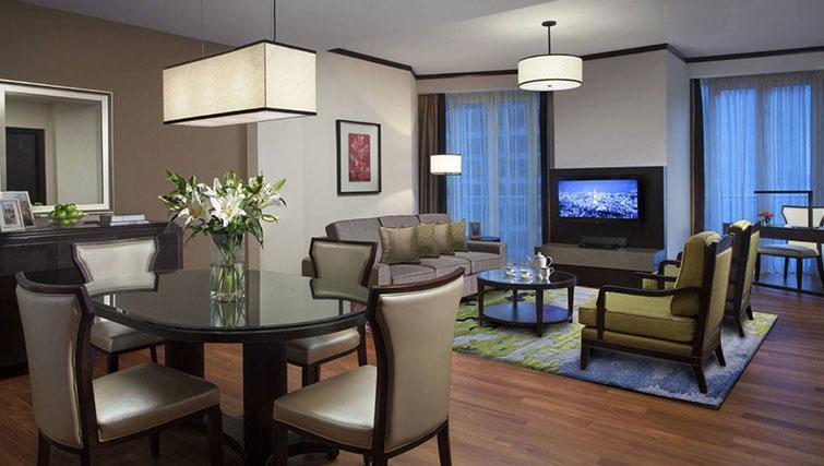 Dining area at Ascott Kuala Lumpur No 9 Apartments - Citybase Apartments