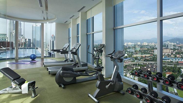 Gym at Somerset Kuala Lumpur Apartments - Citybase Apartments