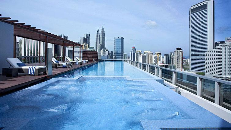 Pool at Somerset Kuala Lumpur Apartments - Citybase Apartments