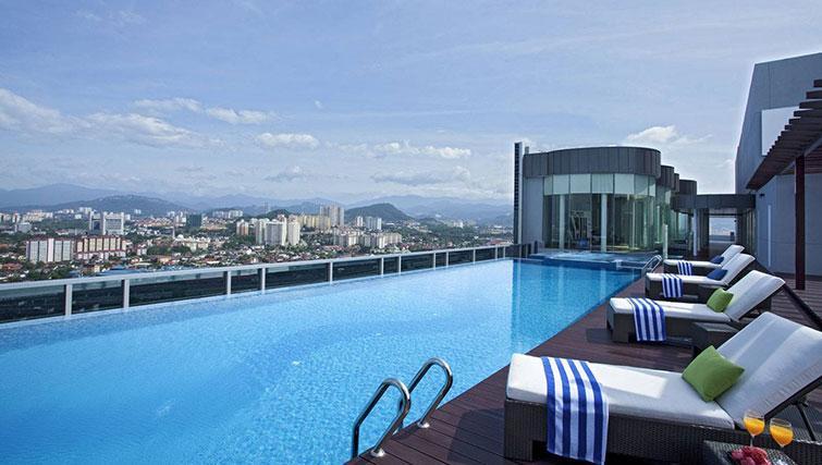 Swimming pool at Somerset Kuala Lumpur Apartments - Citybase Apartments