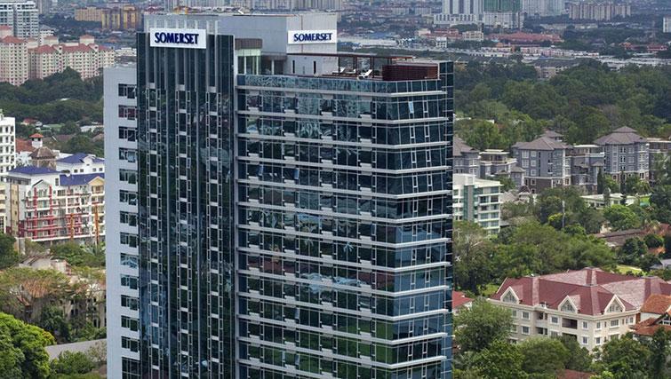 Exterior of Somerset Ampang Kuala Lumpur Apartments - Citybase Apartments