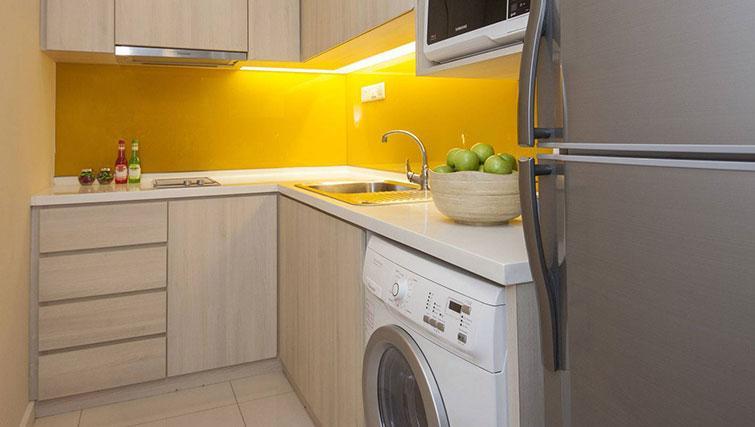 Kitchen at Somerset Kuala Lumpur Apartments - Citybase Apartments