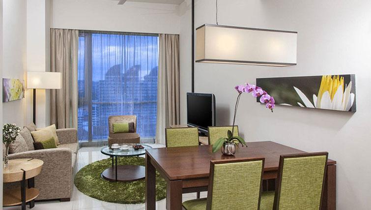 Dining table at Somerset Kuala Lumpur Apartments - Citybase Apartments