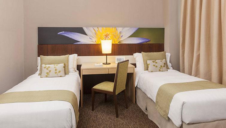 Twin beds at Somerset Kuala Lumpur Apartments - Citybase Apartments