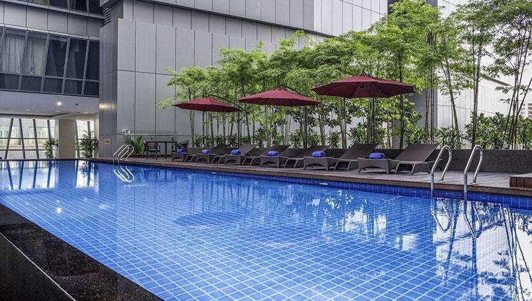 Pool at Ascott Sentral Kuala Lumpur Apartments - Citybase Apartments