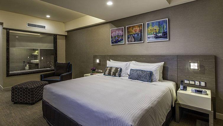 Bed at Ascott Sentral Kuala Lumpur Apartments - Citybase Apartments