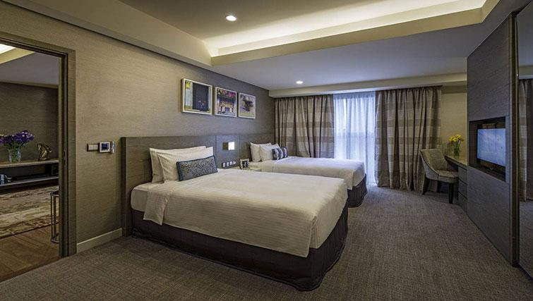 Twin beds at Ascott Sentral Kuala Lumpur Apartments - Citybase Apartments