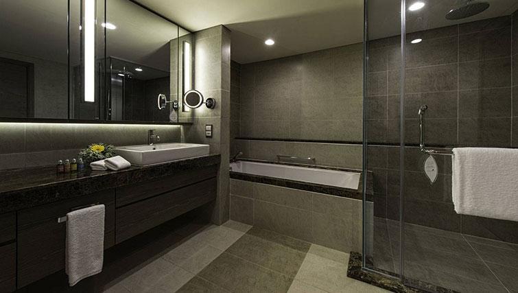Bathroom at Ascott Sentral Kuala Lumpur Apartments - Citybase Apartments