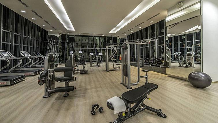 Gym at Ascott Sentral Kuala Lumpur Apartments - Citybase Apartments