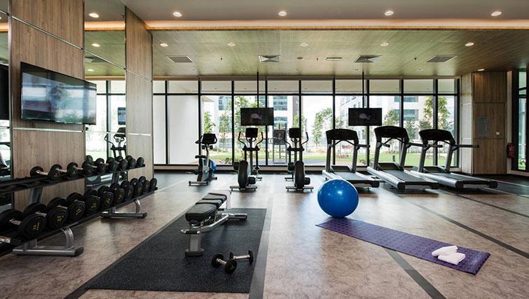 Gym at Ascott Somerset Damansara Uptown Apartments - Citybase Apartments