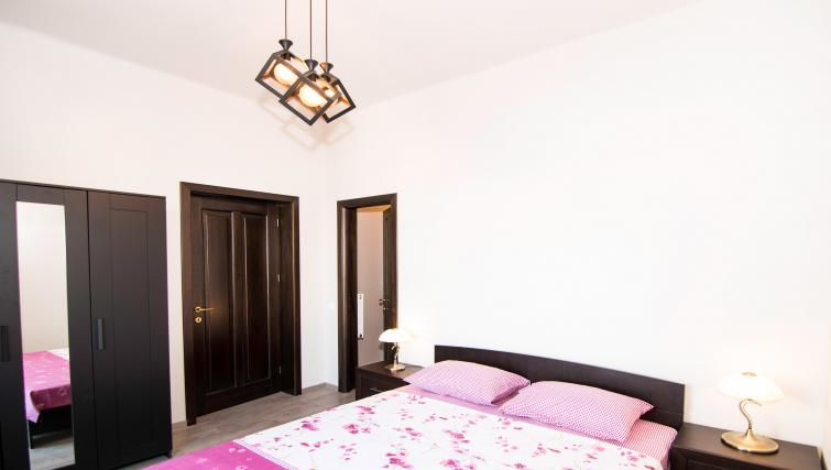 Bed at Calea Victoriei Apartment - Citybase Apartments
